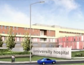 North Staffs Hospital PFI Project